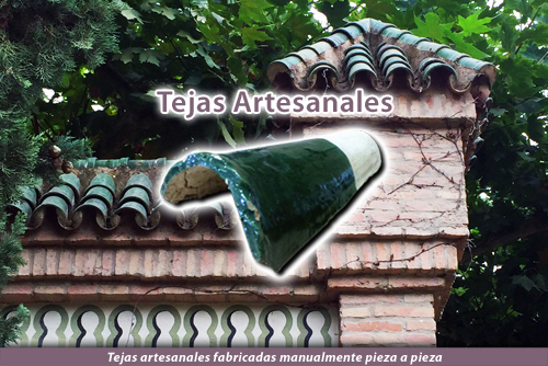 Tejas artesanales