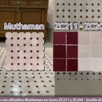 Baño con alfombra Zellige – Muthaman